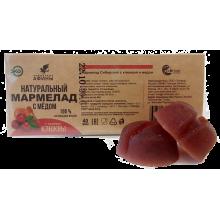 Мармелад в подложке Брусника с мёдом 40 гр