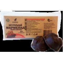 Мармелад в подложке в шоколаде Малина с мёдом 54 гр