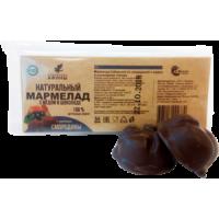 Мармелад в подложке в шоколаде Смородина с мёдом 54 гр