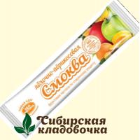 Смоква Яблочно-абрикосовая БЕЗ САХАРА (Эко пастила), 30 г